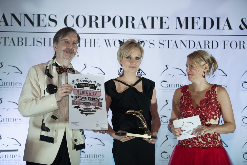 150 Cannes Corporate Media And TV Awards 15-10-2015 Photo by Benjamin MAXANT