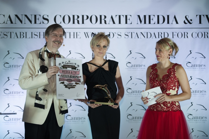 152 Cannes Corporate Media And TV Awards 15-10-2015 Photo by Benjamin MAXANT