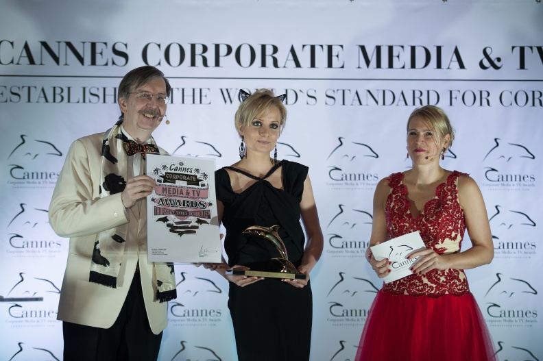 153 Cannes Corporate Media And TV Awards 15-10-2015 Photo by Benjamin MAXANT