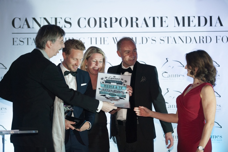 215 Cannes Corporate Media And TV Awards 15-10-2015 Photo by Benjamin MAXANT