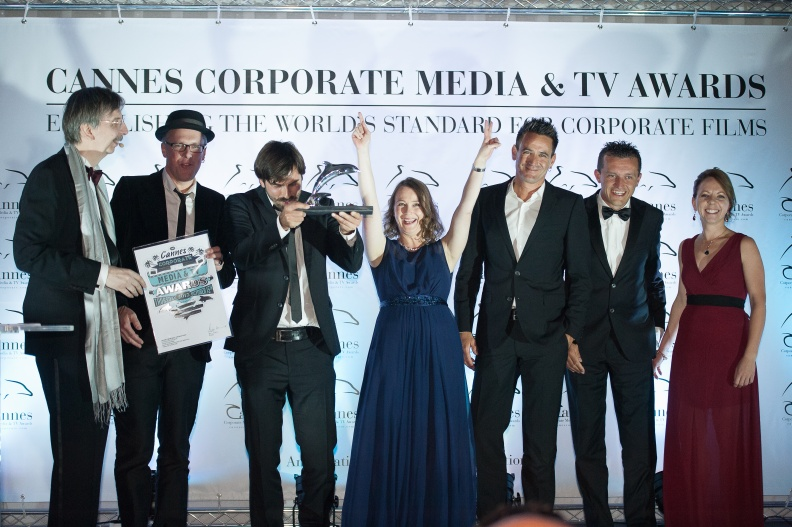 217 Cannes Corporate Media And TV Awards 15-10-2015 Photo by Benjamin MAXANT