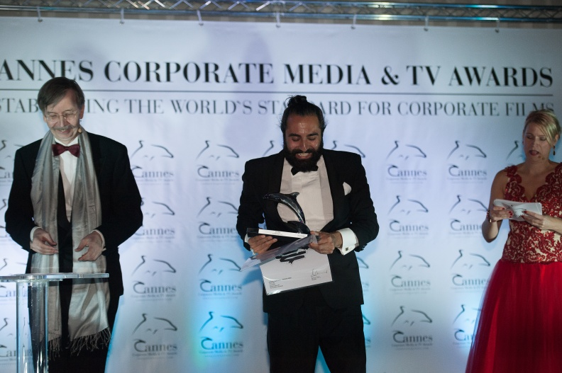 232 Cannes Corporate Media And TV Awards 15-10-2015 Photo by Benjamin MAXANT